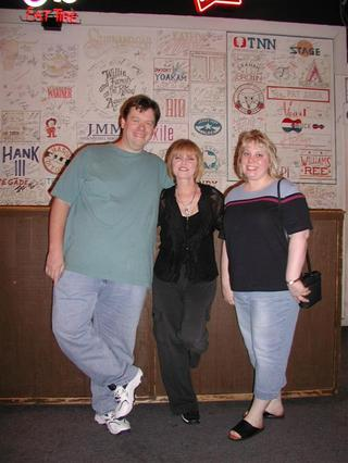 Joe & Lynn meet Pat Benatar
