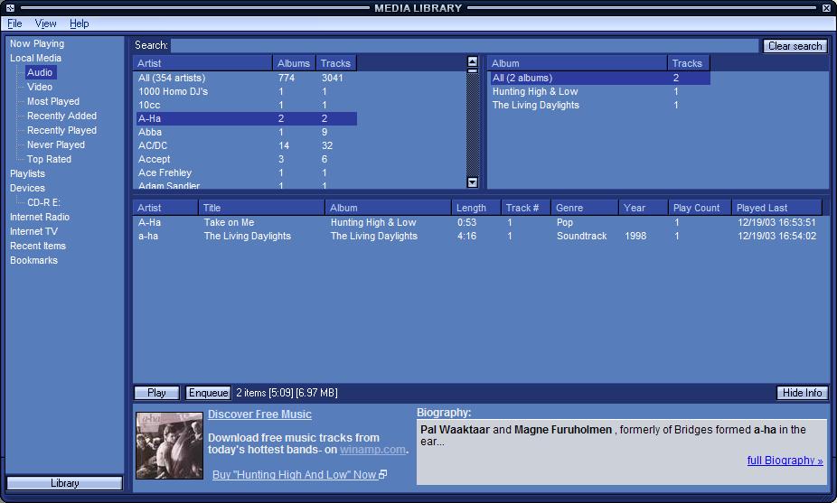 Winamp, Musicmatch Jukebox, & Me