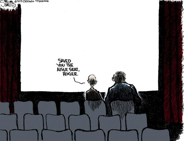Ebert Saved the Aisle Seat