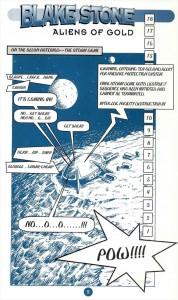 Blake Stone Comic