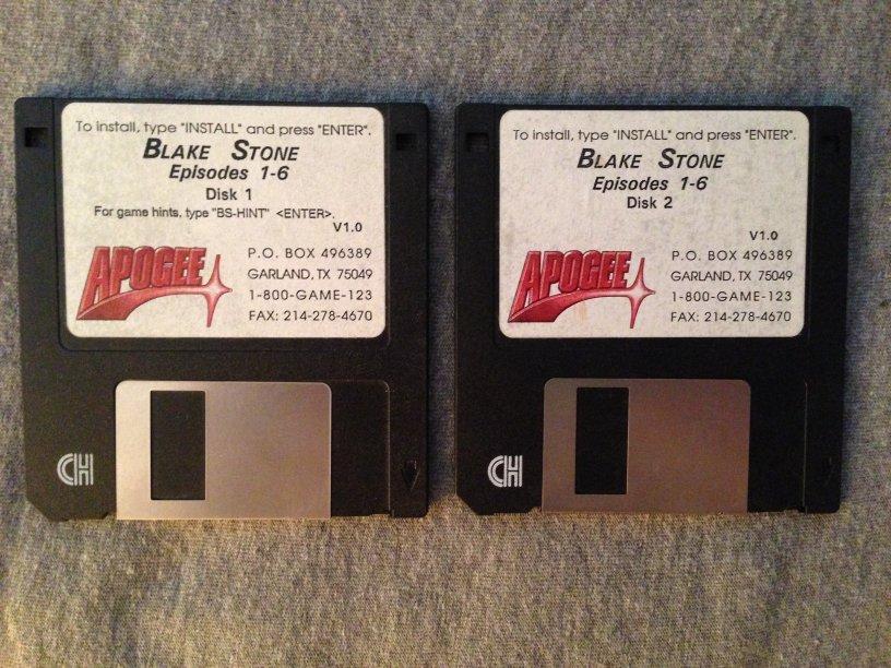 Blake Stone Floppy Discs