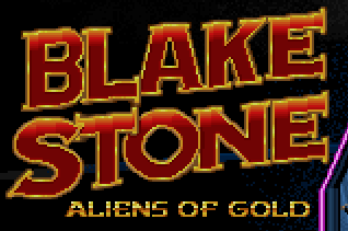 Blake Stone: Aliens of Gold Logo