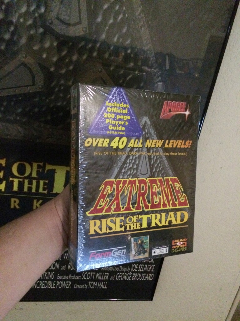 A still sealed, retail Extreme ROTT box. Photo taken Dec 20, 2014.