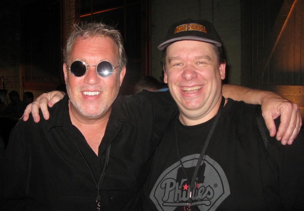Joe Siegler (myself) with Jon St. John.