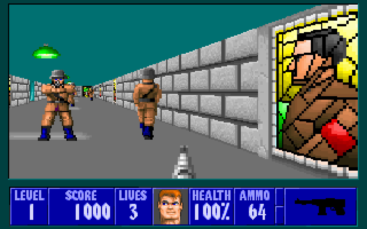 Wolfenstein 3d turns 25 for Wolfenstein 3d